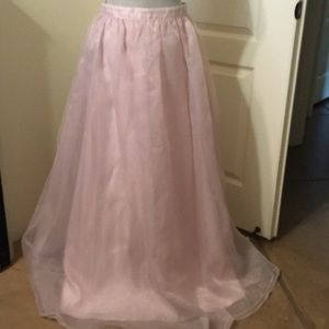 Misty Pink Long Skirt for the Holiday!!!!